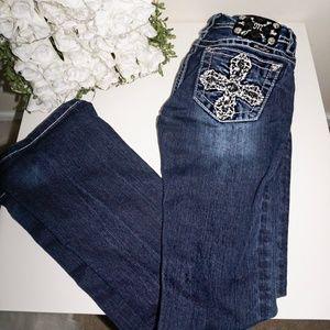 ( Like new!) Dark Wash Miss Me jeans boot cut